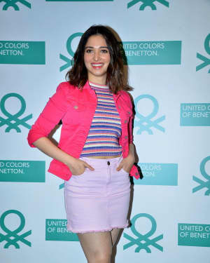 Tamanna Bhatia - Launch Of United Colors Benetton Summer Collections Photos
