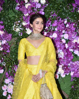 Alia Bhatt - Photos: Akash Ambani & Shloka Mehta Wedding at Jio World Centre