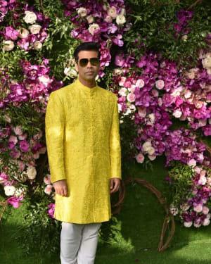 Karan Johar - Photos: Akash Ambani & Shloka Mehta Wedding at Jio World Centre