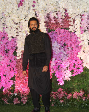 Ritesh Deshmukh - Photos: Akash Ambani & Shloka Mehta Wedding at Jio World Centre