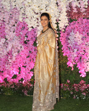 Kajol - Photos: Akash Ambani & Shloka Mehta Wedding at Jio World Centre