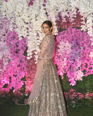 Malaika Arora - Photos: Akash Ambani & Shloka Mehta Wedding at Jio World Centre