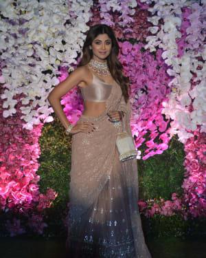 Shilpa Shetty - Photos: Akash Ambani & Shloka Mehta Wedding at Jio World Centre