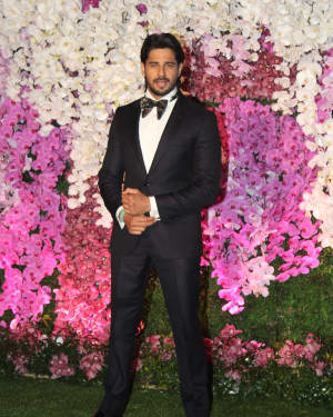 Sidharth Malhotra - Photos: Akash Ambani & Shloka Mehta Wedding at Jio World Centre