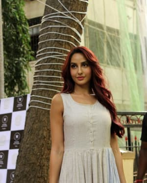 Nora Fatehi - Photos: Inauguration Of Mizmar Spa and Salon