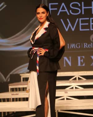 Neha Dhupia - Photos: INIFD Launchpad Show At LFW 2020 | Picture 1720064