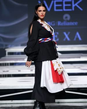 Neha Dhupia - Photos: INIFD Launchpad Show At LFW 2020 | Picture 1720075