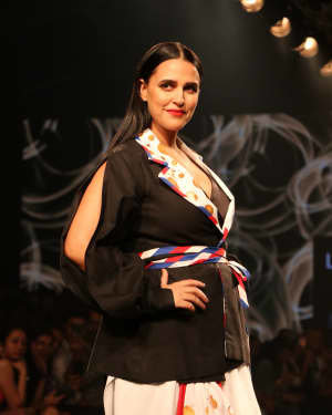 Neha Dhupia - Photos: INIFD Launchpad Show At LFW 2020 | Picture 1720062