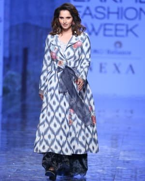 Photos: Sania Mirza Walks For EKA At LFW 2020 | Picture 1720227