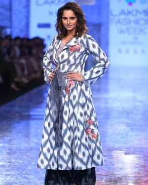 Photos: Sania Mirza Walks For EKA At LFW 2020 | Picture 1720229