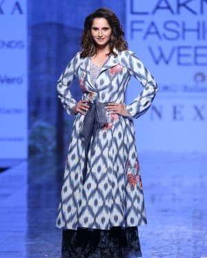 Photos: Sania Mirza Walks For EKA At LFW 2020 | Picture 1720231