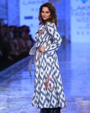 Photos: Sania Mirza Walks For EKA At LFW 2020 | Picture 1720230