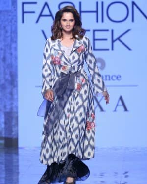 Photos: Sania Mirza Walks For EKA At LFW 2020 | Picture 1720226