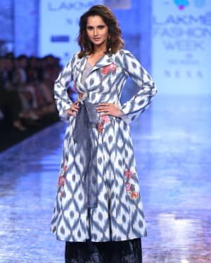 Photos: Sania Mirza Walks For EKA At LFW 2020 | Picture 1720228