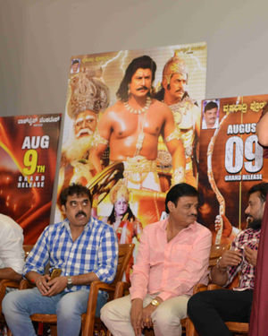 Kurukshetra Kannada Film Press Meet Photos   Picture 1672468