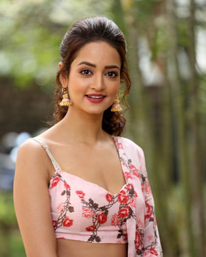Shanvi Srivastava - Athade Srimannarayana Movie Press Meet Photos