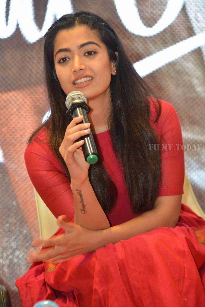 Rashmika Mandanna - Dear Comrade Kannada Film Press Meet Photos | Picture 1663629