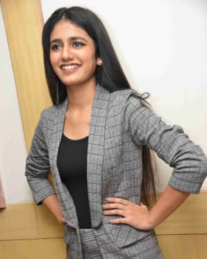 Priya Prakash Varrier - Kirik Love Story Film Audio Release Photos