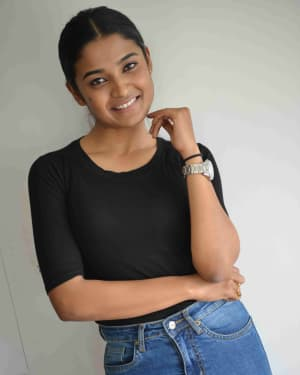 Chaithra J Achar - Maheera Film Press Meet Photos