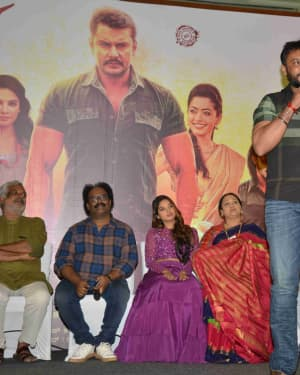 Yajamana Film Success Meet Photos