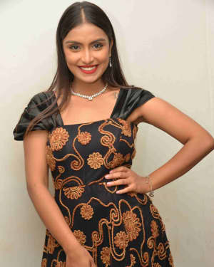 Vaishnavi Chandran - Arabi Kadala Theeradali Film Press Meet Photos