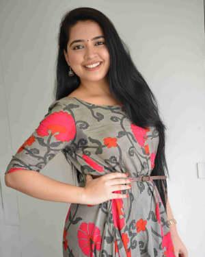 Ahalya Suresh - Kamarottu Checkpost Film Press Meet Photos