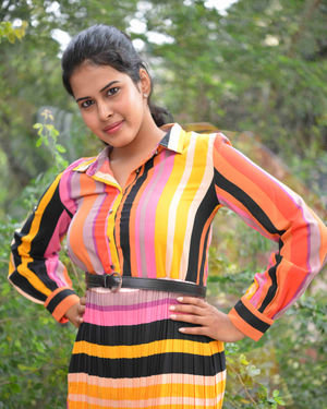 Aishwarya Rao - Baddi Magan Lifu Film Press Meet Photos