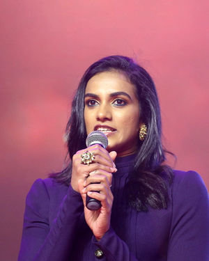 P. V. Sindhu - Pailwaan Movie Pre Release Event At Hyderabad Photos | Picture 1680600
