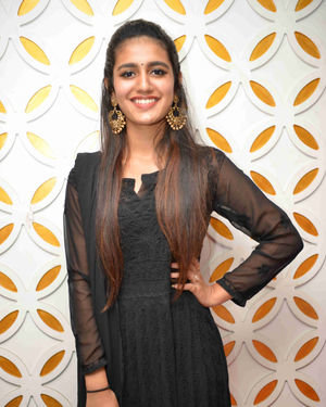 Priya Prakash Varrier - Vishnupriya Kannada Film Press Meet Photos | Picture 1684429