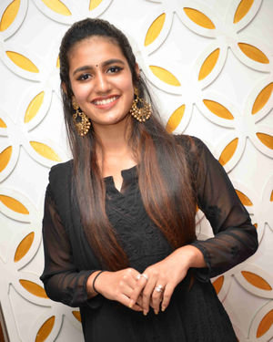 Priya Prakash Varrier - Vishnupriya Kannada Film Press Meet Photos | Picture 1684431