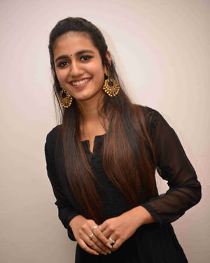 Priya Prakash Varrier - Vishnupriya Kannada Film Press Meet Photos | Picture 1684411