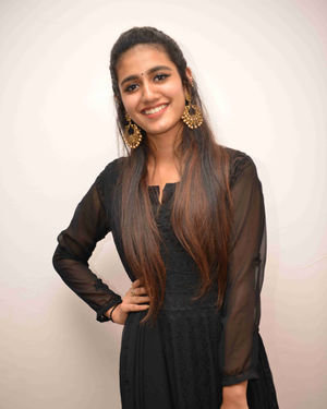 Priya Prakash Varrier - Vishnupriya Kannada Film Press Meet Photos | Picture 1684434