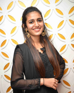 Priya Prakash Varrier - Vishnupriya Kannada Film Press Meet Photos | Picture 1684430