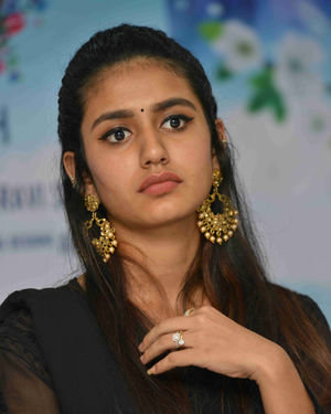 Priya Prakash Varrier - Vishnupriya Kannada Film Press Meet Photos | Picture 1684437