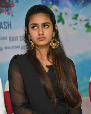 Priya Prakash Varrier - Vishnupriya Kannada Film Press Meet Photos | Picture 1684421