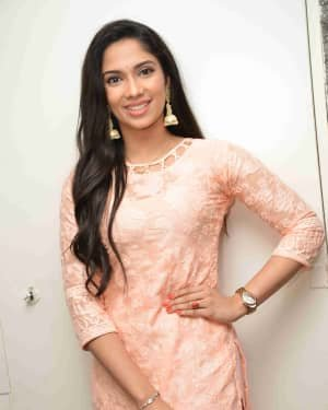 Neharika Shenoy - Pratham's New Movie Announcement Press Meet Photos