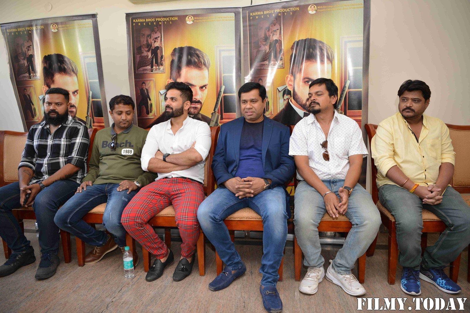 Raju James Bond Kannada Film Press Meet Photos   Picture 1714118