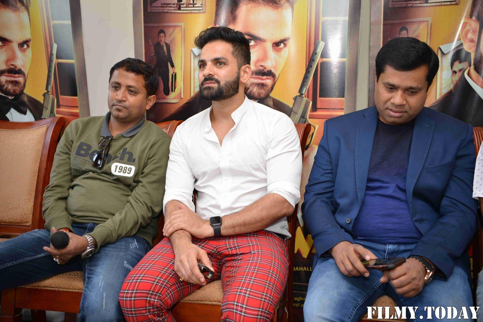 Raju James Bond Kannada Film Press Meet Photos   Picture 1714119