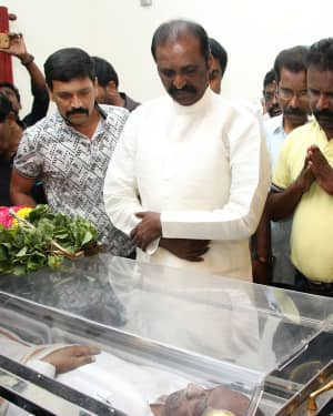 Photos: Celebs Pays Last Respect To Director Mahendran | Picture 1640812