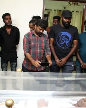 Photos: Celebs Pays Last Respect To Director Mahendran | Picture 1640815