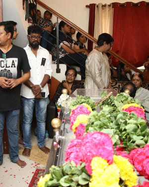 Photos: Celebs Pays Last Respect To Director Mahendran | Picture 1640809