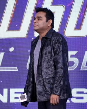 A. R. Rahman - Avengers End Game Tamil Version Press Meet Photos