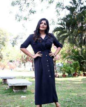 Manjima Mohan - Thevarattam Movie Press Meet Photos   Picture 1643496