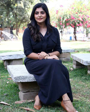 Manjima Mohan - Thevarattam Movie Press Meet Photos   Picture 1643504