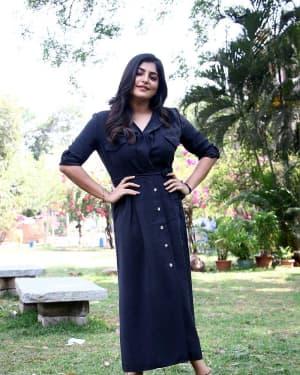 Manjima Mohan - Thevarattam Movie Press Meet Photos   Picture 1643497