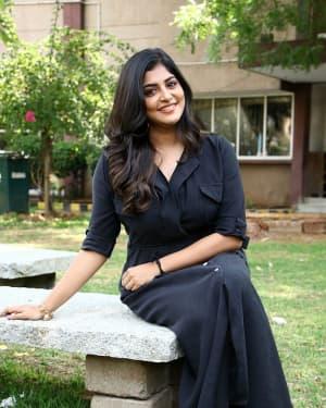 Manjima Mohan - Thevarattam Movie Press Meet Photos   Picture 1643513