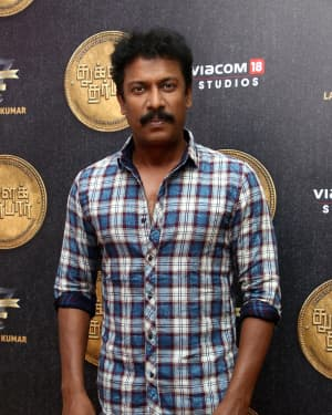 Samuthirakani - Tughlaq Darbar Movie Pooja Photos | Picture 1671905