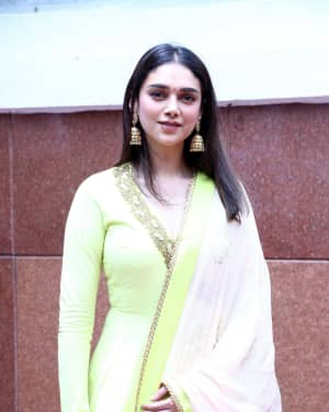 Aditi Rao Hydari - Tughlaq Darbar Movie Pooja Photos | Picture 1671889