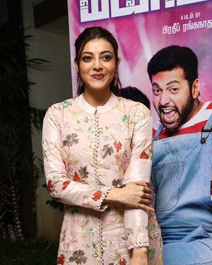 Kajal Aggarwal - Comali Tamil Movie Press Meet Photos