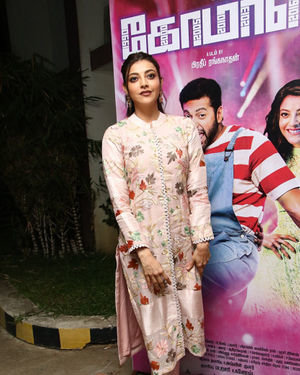 Kajal Aggarwal - Comali Tamil Movie Press Meet Photos | Picture 1671969